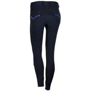 Harry`s Horse Reithose Jewels Knie Grip navy 44